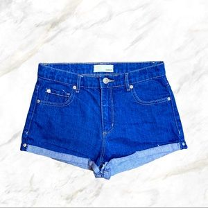 4/$30 🌿 Garage | High Waisted Blue Jean Shorts